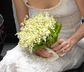 Букет невесты из 49 Ландышей