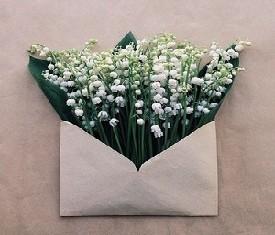 письмо из 25 ландышей в подарок