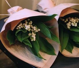 5 цветов ландышей в упаковке
