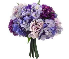букет из цветов гортензии ассорти